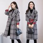 Tie-waist Double Breasted Coat
