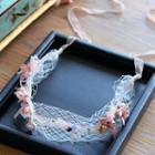 Flower Applique Headband