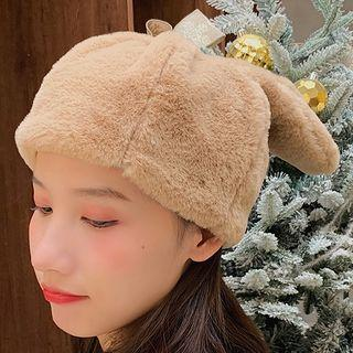Rabbit Ear Furry Hat