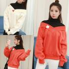 Inset Top Pullover