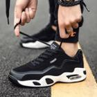 Fleece-lined Lace-up Athletic Sneakers