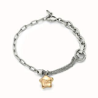 Ip Rose Gold Lucky Star Steel Bracelet Rosegold - One Size