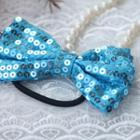 Shimma Bow Hair -blue