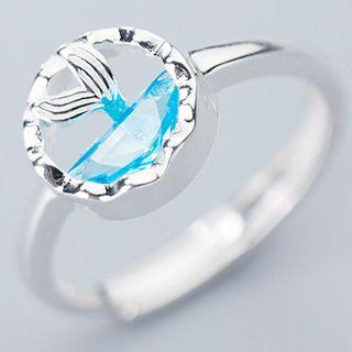 925 Sterling Silver Tail Ring S925 Silver - As Shown In Figure - One Size