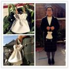 Drawstring Handbag / Tote Bag