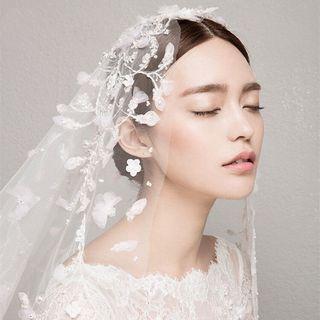 Flower Lace Wedding Veil