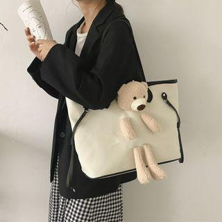 Bear Accent Tote Bag