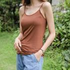 Plain Silky Camisole Top