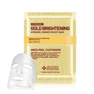 Medi-peel - Gold Brightening Hydro Gel Essence Velvet Mask 1pc