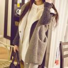 Hooded Long Fleece Jacket