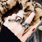Polished Metal Open Ring