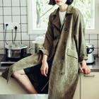 Corduroy Long Coat