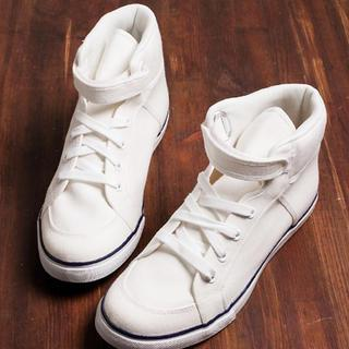 High-top Canvas Sneakers