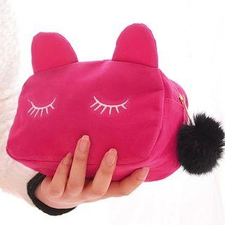 Cat Face Make Up Pouch