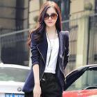 Diagonal Zip Jacket
