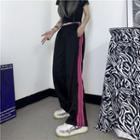 Striped Panel Color Block Sweatpants