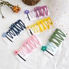 Set: Floral Hair Pin / Alloy Hair Clip (assorted Designs)