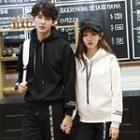 Couple Matching Embroidered Hoodie