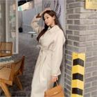 Cashmere Blend Trench Coat