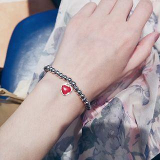 Heart Metal Ball Bracelet