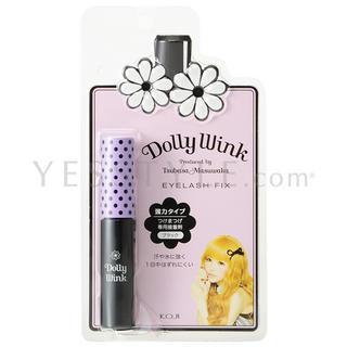 Koji - Dolly Wink Eyelash Fix (black) 1 Pc