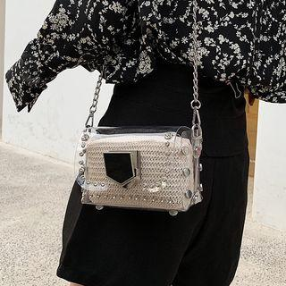 Set: Rivet Crossbody Bag + Pouch