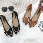 Pointed Buckled Flats