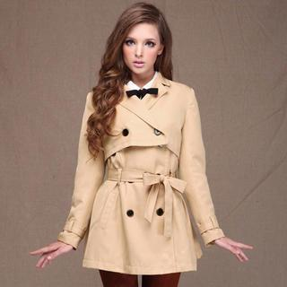 Layered Trench Coat