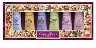 Crabtree & Evelyn - Hand Therapy Sampler Set: Lavender + Rose + Lily + Venitian + Florentine + Jasmine 6 Pcs X 25g