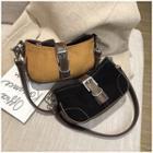 Bucket Bag Faux Leather Saddle Bag