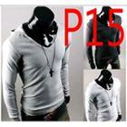 Plain Hooded Long Sleeve T-shirt