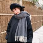 Pattern Scarf As Figure - One Size
