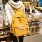 Heart Detail Nylon Backpack