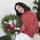 Turtleneck Melange Thick Sweater