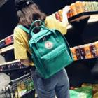 Embroidery Canvas Backpack