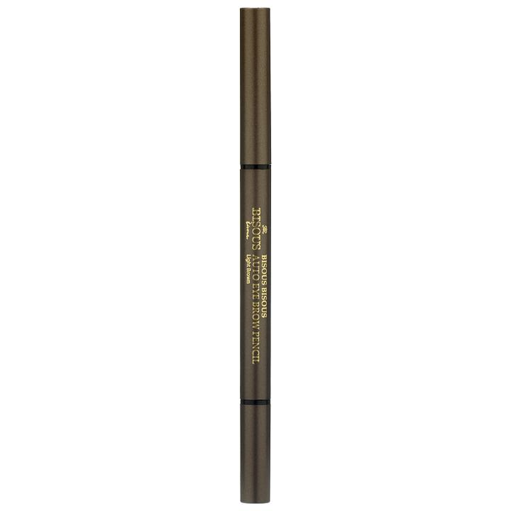 Bisous Bisous - Auto Eye Brow Pencil (#01 Light Brown) 1 Pc