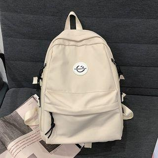Smiley Face Nylon Backpack