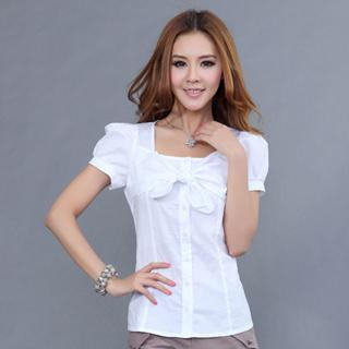 Bow-accent Blouse