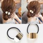 Metal Accent Hair Tie
