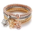 Crown Drop Bracelet