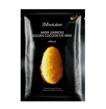 Jmsolution - Water Luminous Golden Cocoon Eye Mask Black 10 Pcs