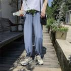 Plain Harem Pants With Drawstring