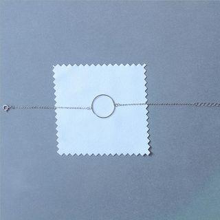 925 Sterling Silver Circle Bracelet