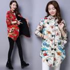 Floral Print Padded Shirt
