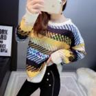 Sequined Patterned Sweater
