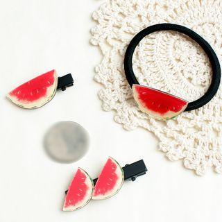 Watermelon Hair Tie / Hair Pin / Hair Clip