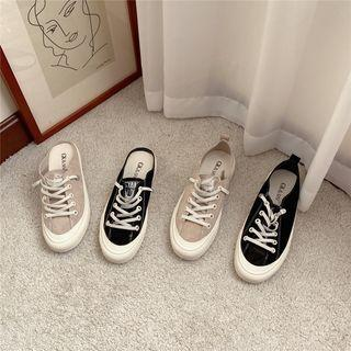 Lace Up Sneakers / Mules