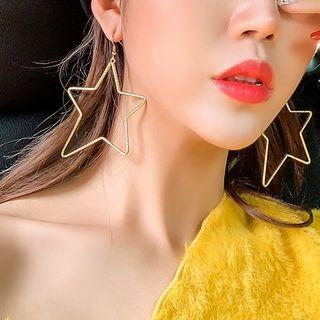 Star Earring 1 Pair - A04-21 - Gold - One Size