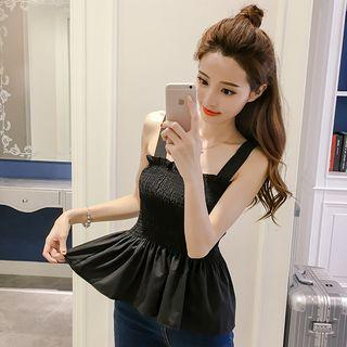 Ruffle Strappy Top