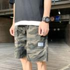 Camo Shorts With Drawcord